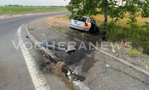 RIVANAZZANO 8/06/2019: 4 ragazzi di ritorno dalla movida escono di strada sulla Sp461