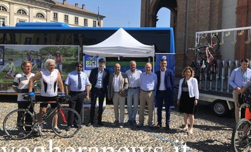 """VOGHERA 20/06/2019: """"Bici Express"""". Parte il progetto per portare i ciclisti milanesi sulla GreenWay e sui sentieri dell'Alta Valle Staffora"""