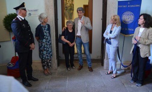 PAVIA 04/06/2019: Donne maltrattate. Da oggi nella caserma dei Carabinieri una stanza dedicata alle audizioni