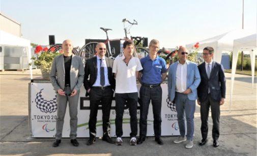 VOGHERA 05/06/2019: Anche un'impresa vogherese sponsor del paratleta olimpico Ale Carvani Minetti