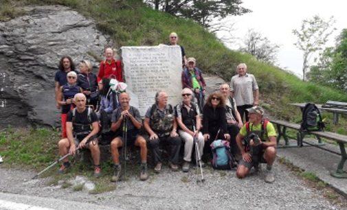 VOGHERA 17/06/2019: Bene il trek alle sorgenti dell'Aveto