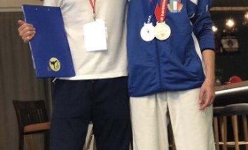 VOGHERA 30/06/2019: Karate. Argento e bronzo per Cristina Brambilla a Bratislava