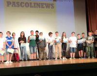 """VOGHERA 10/06/2019: Scuola. Al San Rocco l'evento di fine anno dell'IC Marsala.  Presentato il giornalino scolastico """"PascoliNews"""""""