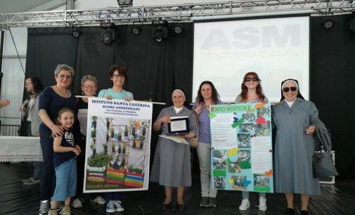 VOGHERA 01/06/2019: Fiera Ascensione. Agli alunni del S. Caterina il premio Asm per il riciclo dei rifiuti
