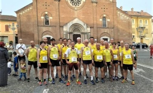 VOGHERA 13/06/2019: Atleti dell'Us Scalo impegnati a Castelnuovo Scrivia e Ponte Crenna