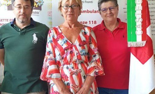 CASTEGGIO 26/07/2019: Croce rossa. Nominato il nuovo Direttore Sanitario. E' Renata Martinotti