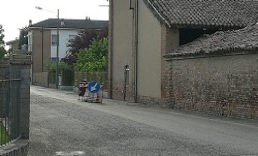 VOGHERA 23/07/2019: La buca compie un mese di vita. Le proteste dei residenti di Medassino
