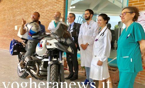 TORRAZZA COSTE 24/07/2019: In vacanza in moto facendo la dialisi di notte in albergo. Il messaggio di forza e speranza di un 42enne oltrepadano