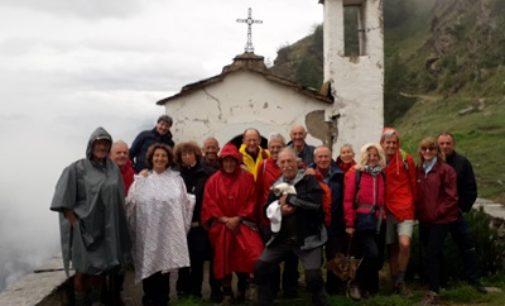 VOGHERA 30/07/2019: Trekking. Una bella gita in val Chisone
