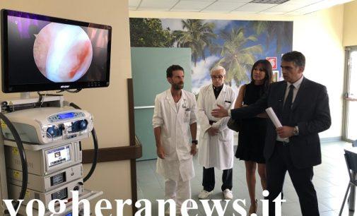 VOGHERA 29/07/2019: Nuove dotazioni d'avanguardia all'Ospedale civile. Inaugurata la nuova Colonna Endoscopica per l'Ortotraumatologia