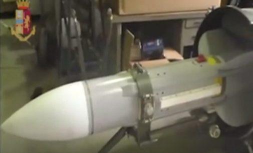"""RIVANAZZANO 15/07/2019: Blitz nel capannone lungo la Sp461. La Polizia cercava (e ha trovato) un missile """"aria-aria"""""""
