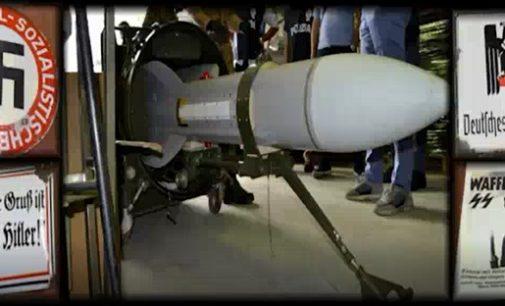 RIVANAZZANO 15/07/2019: Sequestro del missile. L'ordigno era stato messo in vendita. La trattativa intercettata via WhatsApp e bloccata dalla Digos della Polizia
