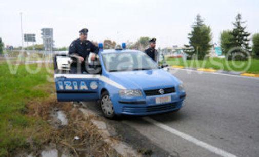 VOGHERA 31/07/2019: Contrasto allo spaccio e controlli agli automobilisti. Polizia sequestra 10 dosi di cocaina