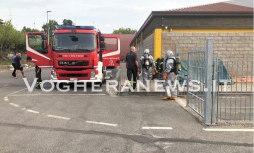 CASTEGGIO 27/08/2019: Bruciore alla gola e agli occhi. Ambulanze Pompieri e carabinieri alla Piscina
