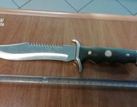 VERRUA PO 17/08/2019: 19enne denunciato dai carabinieri per minacce. Aveva anche un coltello