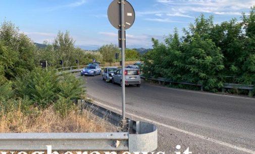 MONTEBELLO 17/08/2019: Auto in contromano. Scontro sulla rotonda