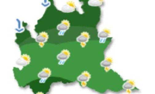 VOGHERA 02/08/2019: Temporali e vento forte su Pavese e Oltrepo. L'allerta della Protezione Civile regionale