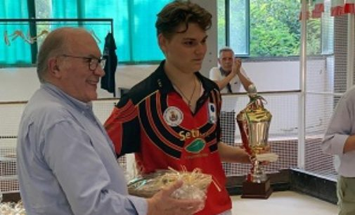 VOGHERA STRADELLA 11/09/2019: Bocce. Lo stradellino Guarnaschelli sfiora il tricolore. 5° il 16enne vogherese Coscia
