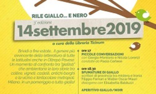 RETORBIDO 11/09/2019: Per l'ultimo appuntamento del 2019 il Rile Giallo si tinge di Nero