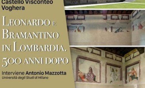 VOGHERA 16/09/2019: Leonardo e Bramantino. Sabato 28 la conferenza del Fai al Castello