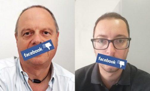 OLTREPO 13/09/2019. Profili social censurati a Casapound. La protesta di Antoninetti e Mallory