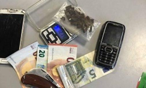 PAVIA 08/09/2019: Spaccio in città. La Polizia arresta un 28enne nei pressi dell'Esselunga