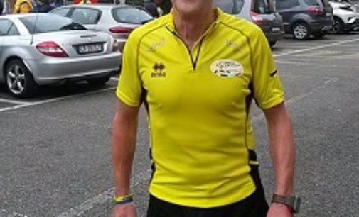 VOGHERA 21/10/2019: Giampiero Berti. Dal calcio alle soddisfazioni nella corsa con l'Us Scalo