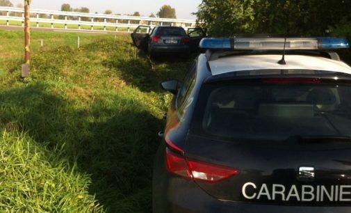 VOGHERA 28/10/2019: Folle fuga in tangenziale. I Carabinieri inseguono e arrestano due uomini su un'Audi A4