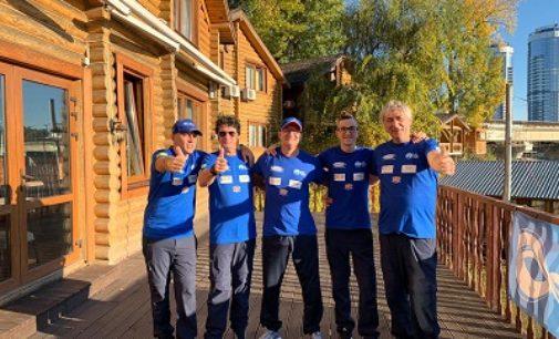 VOGHERA 16/10/2019: Il vogherese Marco Montagna (dipendente Asm) trionfa ai mondiali di para rafting