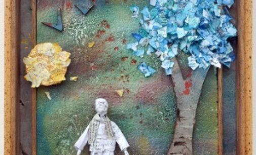 VOGHERA 16/10/2019: L'Omino di carta di Fabrizio Falchetto alla Galleria Border Line