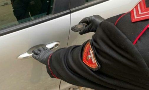 PAVIA 31/10/2019: Aprivano le auto in sosta con un grimaldello elettronico. Presi in flagranza dai carabinieri due uomini