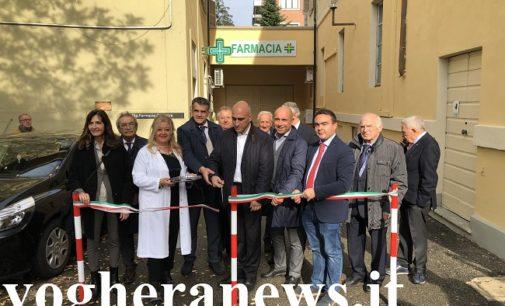 VOGHERA 25/10/2019: Inaugurato oggi il nuovo ingresso dall'Ospedale alla Farmacia Asm (ex Comunale) 3