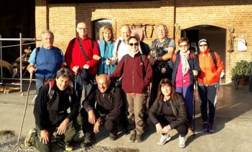 VOGHERA 08/10/2019: Ultimi uscita per il Gruppo Trekking dell'Atletica Pavese