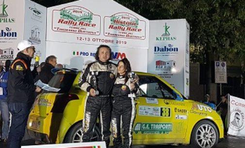 TORTONA 14/10/2019: Rally. Ritiri ma anche successi per la Efferremotorsport al Rally Race. Salviotti vince la classe