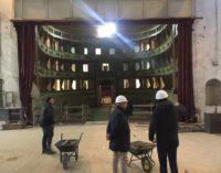 VOGHERA 01/10/2019: Teatro Sociale. Oggi la visita guidata al cantiere per i cittadini. La fine dei lavori slitta all'ottobre del 2020