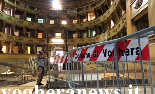 VOGHERA 01/10/2019: Teatro Sociale. 300 cittadini alla visita del cantiere per il recupero (VIDEO)