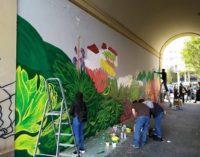 VOGHERA 30/10/2019: Nuovo murales a Torino. Il direttore dei lavori è un vogherese