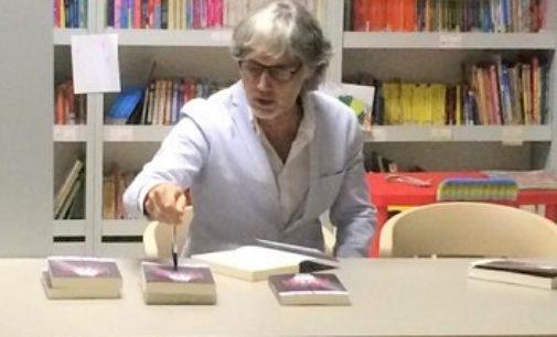 RIVANAZZANO 11/10/2019: Biblioteca. Stasera alla Migliora il vogherese Gasio presenta l'ultimo romanzo