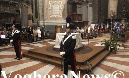 """VOGHERA 23/11/2019: In Duomo e al Castello la """"Virgo Fidelis"""". Così i carabinieri hanno celebrato la loro Santa Patrona"""