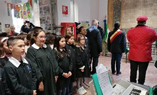 VOGHERA 06/11/2019: La celebrazione del 4 novembre alla Scuola Primaria De Amicis