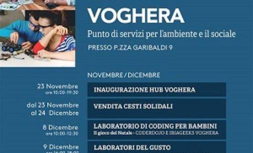 VOGHERA 18/11/2019: Nasce Hub Voghera. Incubatore di servizi per l'ambiente e il sociale