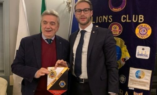 VOGHERA 18/11/2019: Nuova serata dei Lions Club Voghera Host. Ospite relatore Antonio Sacchi