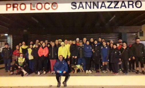VOGHERA 13/11/2019: Atletica. Successo per la Moon light run di Sannazzaro