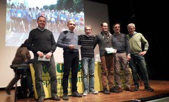 PAVIA VOGHERA 09/12/2019: Sport. Gran festa per la Uisp atletica di Pavia