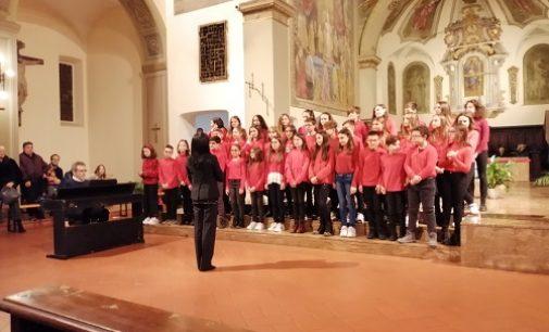 VOGHERA 30/12/2019: Scuola. Tre cori per il concerto di Natale dell'I.C. Sandro Pertini