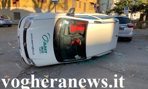 """VOGHERA 13/12/2019: Incidente viale Marx- Cernaia. L'Auser precisa. """"I nostri trasporti sono sicuri"""""""