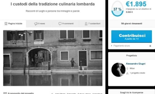 PAVIA VOGHERA MILANO 09/01/2020: Fotografia e tradizioni culinarie lombarde. Giovane lancia appello per un Crowdfunding