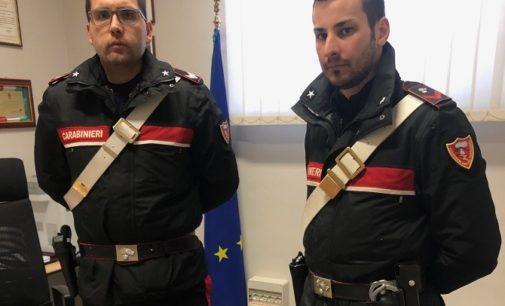 VOGHERA 03/01/2020: Nella notte. Spacciatore arrestato dai Carabinieri dopo un lungo inseguimento da Voghera fin sulle colline di Retorbido