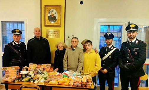 PAVIA 24/01/2020: Alle mense dei poveri la refurtiva trovata dai Carabinieri