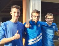 VOGHERA 28/01/2020: Atletica. I giovani velocisti dell'Iriense si migliorano ancora